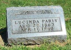 Lucinda <I>Carr</I> Paris