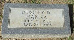 Dorothy D. Hanna