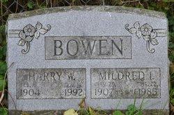 Mildred L <I>Pierce</I> Bowen