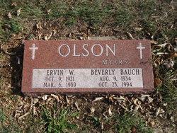 Beverly <I>Bauch</I> Olson