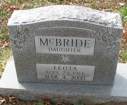 Leota McBride
