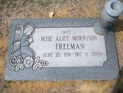 "Rose Alice ""Skeet"" <I>Morrison</I> Freeman"