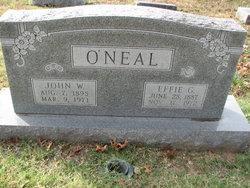 John W O'Neal