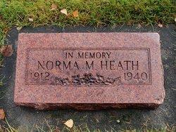 Norma M <I>Van Rooy</I> Heath