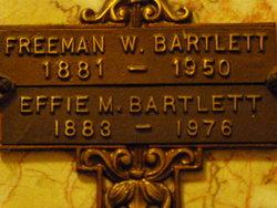 Effie M. Bartlett