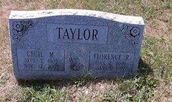 Florence R <I>Holt</I> Taylor