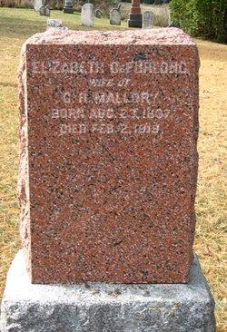 Elizabeth <I>DeFurlong</I> Mallory