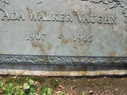 Ada <I>Walker</I> Vaughn