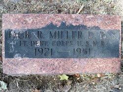 Dr Jack R. Miller