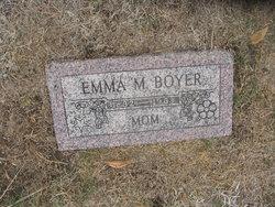 Emma M Boyer