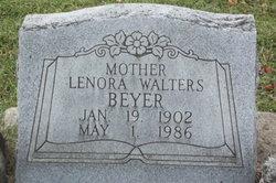 Lenora <I>Walters</I> Beyer