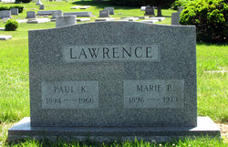 Marie <I>Peterson</I> Lawrence