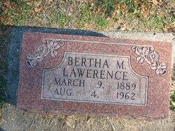 Bertha M Lawrence