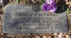 Thomas J Stewart