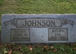 """Adella """"Ida"""" <I>White</I> Johnson"""