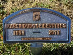 Karen <I>DuBose</I> Geddings