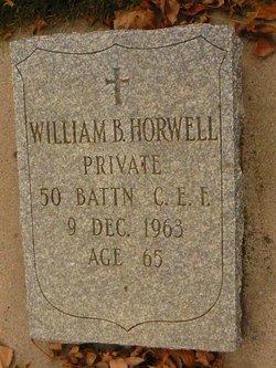 William Benjamin Horwell