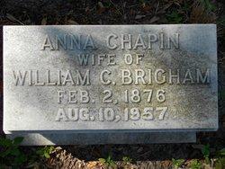 Anna <I>Chapin</I> Brigham