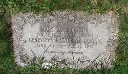 Mary <I>Barr</I> Corrin
