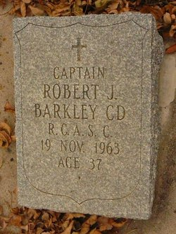 Capt Robert Jocelyne Barkley, Jr