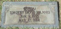 """Timothy David """"Bubba"""" Majors"""