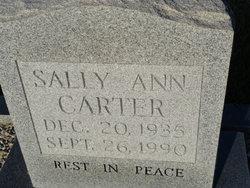 Sally Ann Carter