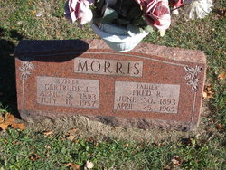 Gertrude L Morris