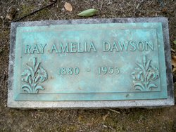 Ray Amelia <I>Chambers</I> Dawson