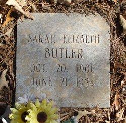 Sarah Elizabeth Butler