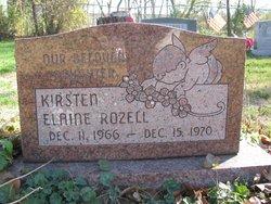 Kirsten Elaine Rozell