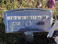 Zada <I>Hodge</I> Hellthaler