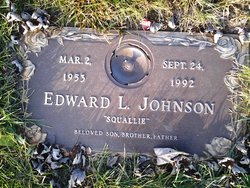 "Edward L. ""Squallie"" Johnson"