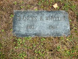 Frances B. Wheeler