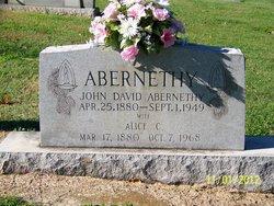 John David Abernethy