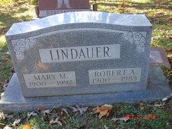 Mary M. <I>Brinker</I> Lindauer