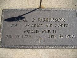 Neal D Robinson