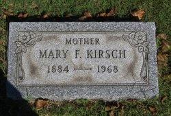 Mary F. <I>Wagner</I> Kirsch