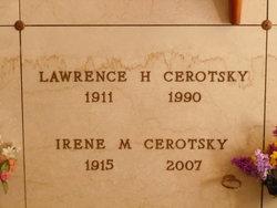 Irene Myrtle <I>Leitz</I> Cerotsky