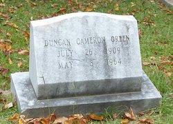 Duncan Cameron Green