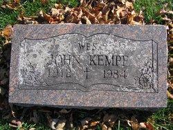 "John ""Wes"" Kempf"