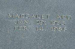Margaret <I>Spann</I> Ard