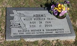 Willie Roebuck <I>Travis</I> Adams
