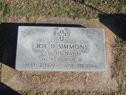 Joe D Simmons