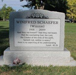 "Winifred ""Winnie"" Schaefer"