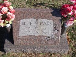 Edith Mae <I>Simmons</I> Evans