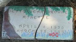 Betty Jean <I>Browne</I> Monette