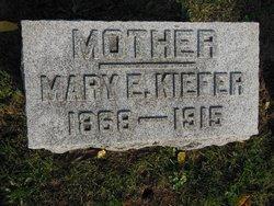 Mary Ellen <I>Bowman</I> Kiefer
