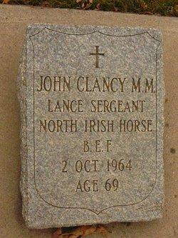 """John William """"Pat"""" Clancy"""