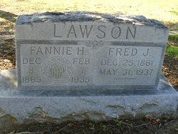 Fannie H <I>Earnest</I> Lawson