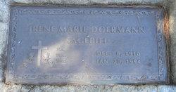 Irene Marie <I>Doermann</I> Sagebiel